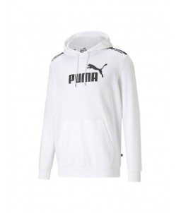 Sudadera puma amplified white